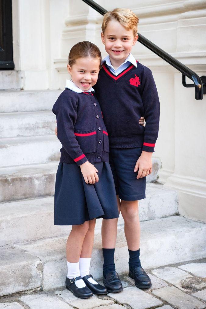 George ja Charlotte kouluun 2019