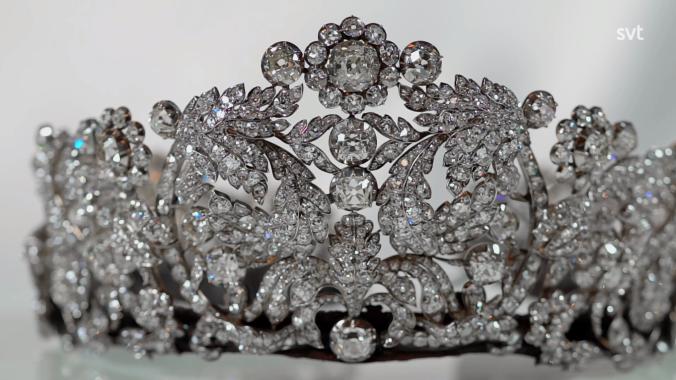 Braganza tiara Ruotsi